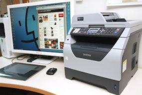 komputer i drukarka